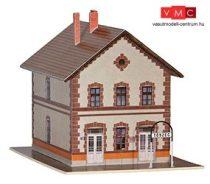 Papírbakter 102 Tószeg HÉV harmadosztályú felvételi épület, vasútállomás (TT)
