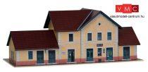 Papírbakter 111 Sellye HÉV másodosztályú felvételi épület, vasútállomás (TT)