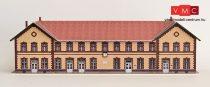 Papírbakter 140 Ózd állomás felvételi épület, vasútállomás (TT)