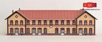Papírbakter 40 Ózd állomás felvételi épület (H0)