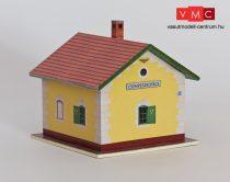 Papírbakter 50 Csempeszkopács MÁV egyszerű őrház (H0)
