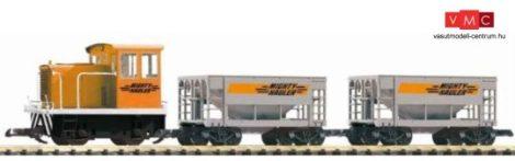 Piko 37150 Analóg kezdőkészlet: DE-25Ton dízelmozdony tehervonattal (G)