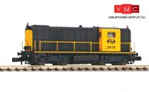 Piko 40425 Dízelmozdony serie 2400, szürke/sárga, 3. homloklámpával, NS IV (E4) (N) - DCC