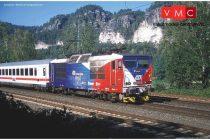 Piko 51061 Villanymozdony 371 201-5 Flaggenloko, CD (E6)