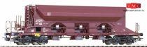 Piko 54341 Önürítős négytengelyes teherkocsi, DB-AG, barna (H0) (E5)