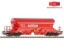 Piko 54630 Önürítős billenthető tetejű négytengelyes teherkocsi, DB-AG / Railion (H0) (E