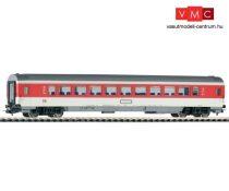 Piko 57610 Személykocsi, négytengelyes termes IC, 1. osztály, DB-AG, vörös ablakcsíkkal (