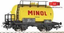 Piko 57713 Tartálykocsi fékállással, DR, MINOL (H0) (E4)