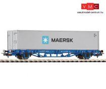 Piko 58743 Konténerszállító teherkocsi, 40 lábas konténerrel - MAERSK, PKP-Cargo (E6) (H0
