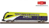 Piko 58810 Emeletes négytengelyes vezérlőkocsi, 2. osztály, ÖBB CAT, 1:100 (E6) (H0)