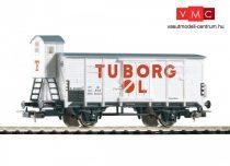 Piko 58909 Fedett teherkocsi fékházzal, G02, Tuborg-Carlsberg, DSB (E3)