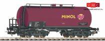 Piko 58923 Tartálykocsi fékállással, négytengelyes Minol, DR (E4) (H0)
