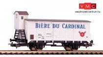 Piko 58929 Fedett sörszállító teherkocsi fékházzal, Cardinal Bier, SBB (E3) (H0)
