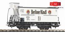Piko 58932 Fedett sörszállító teherkocsi fékházzal, Berliner Kindl, DRG (E2) (H0)