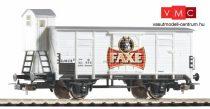 Piko 58933 Fedett sörszállító teherkocsi fékházzal, Faxe, DSB (E3) (H0)