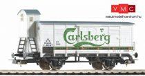 Piko 58934 Fedett sörszállító teherkocsi fékházzal, Tuborg Carlsberg, DSB (E3) (H0)