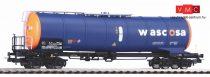 Piko 58962 Tartálykocsi fékállással, négytengelyes Wascosa, narancs-kék (E6) (H0)