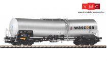 Piko 58976 Vegyianyagszállító négytengelyes tartálykocsi, Wascosa Caprolactam (E6) (H0)