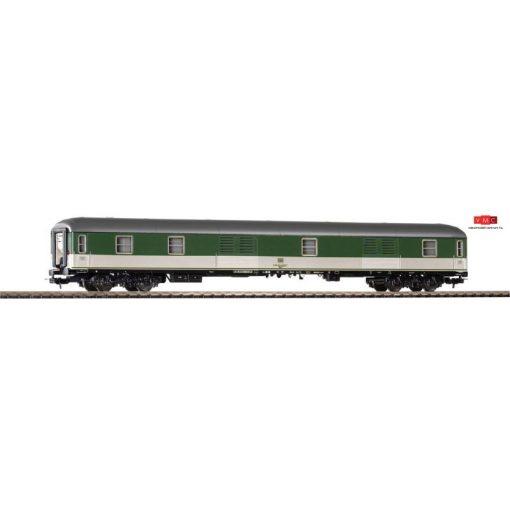 Piko 59637 Poggyászkocsi, négytengelyes zöld/szürke Düm, DB (E4) (H0)