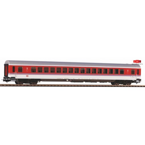 Piko 59668 Személykocsi, négytengelyes IC Apmz 121, termes 1. osztály, orientvörös, DB (E4