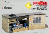 Piko 60022 Irodaépület rámpával (N)