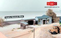 Piko 61127 Homoküzem irodaépület és tároló, E.Blum (H0)