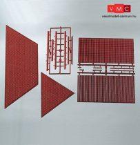 Piko 62803 Dekorlap: tetőcserép, kúpcserepekkel (G)