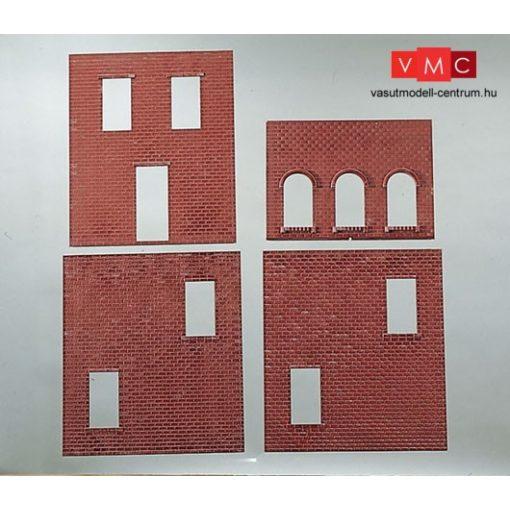 Piko 62809 Házfal - téglamintás (4 db) (G)