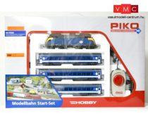 Piko 97915 Analóg kezdőkészlet: 1047 sorozatú villanymozdony tehervonattal, MÁV (E5) (H0)