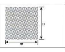 Plastruct 101148 PS-148 Bézs barázdált sztirol lap, 180 x 305 mm 1:100, trepni lemez (1db)