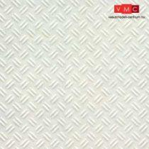 Plastruct 101150 PSW-150 Bézs barázdált sztirol lap, 180 x 305 mm 1:24, trepni lemez (1db)