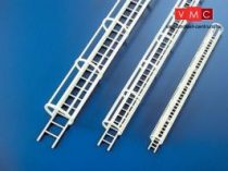 Plastruct 190972 CLS-4 Ipari létra védőgyűrűvel 1:100 10,7x125mm (1db)