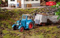 Pola 331613 Lanz Bulldog pásztor lakókocsival (G)