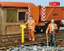 Pola 331834 Vasúti pályamunkások, 2 db (G)