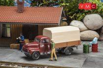 Pola 331861 Borgward platós teherautó ponyvával (G)