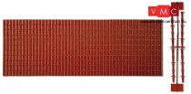 Pola 333101 Dekorlap, cseréptető (2 db), kúpcseréppel (G)