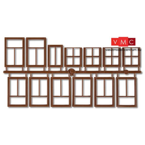 Pola 333109 Ablakok barna színben, 3 db (G)