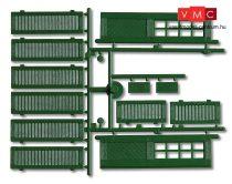 Pola 333112 Spaletták és ajtók, 3 db - zöld (G)