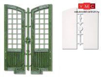 Pola 333116 Nagy ajtó, ablaküveg és zsanérok (G)