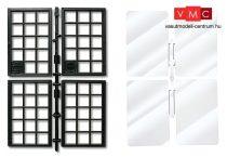 Pola 333117 Ablakok és ablaküvegek, 2 db (G)