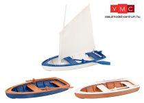 Pola 333150 Vitorláshajó és 2 db csónak (G)