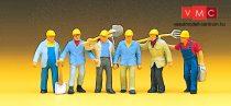 Preiser 10033 Vasúti pályamunkások (H0)