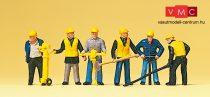Preiser 10035 Vasúti pályamunkások (H0)
