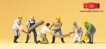 Preiser 10042 Favágók, erdei dolgozók (H0)