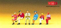 Preiser 10096 Ülő emberek (H0)