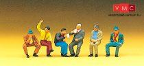 Preiser 10097 Ülő férfiak (H0)