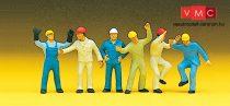 Preiser 10105 Ipari munkások (H0)