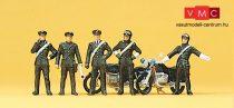 Preiser 10175 Carabinieri, olasz motoros csendőr egység (H0)