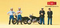 Preiser 10191 Gendarmerie, francia motoros csendőr egység (H0)