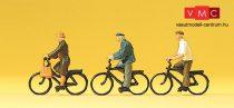 Preiser 10333 Kerékpárosok (H0)